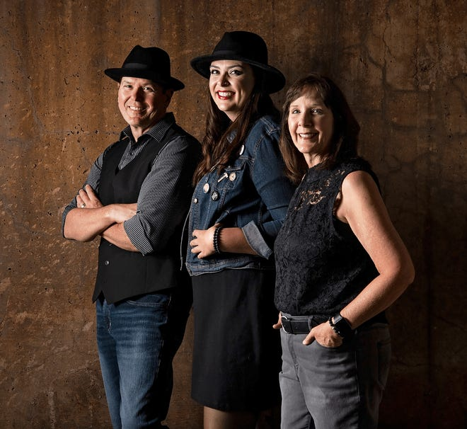 Route 358 will perform in downtown Yellville on Saturday night.