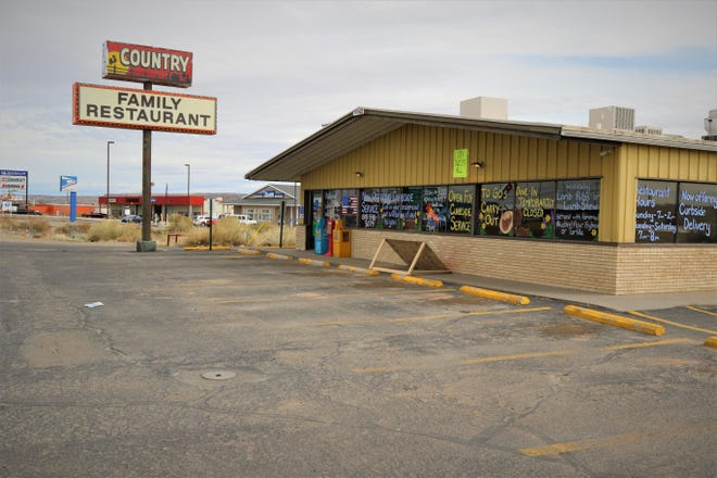 Country Family Restaurant, located at 4205 U.S. Highway 64 in Kirtland, is pictured in an undated file photo. The restaurant had its food service permit suspended by the New Mexico Environment Department.