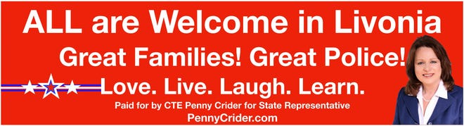 Political candidate Penny Crider plans to install this digital billboard by Monday, July 27, 2020.