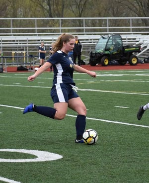 Allison Faragher played 12 consecutive seasons for South Lyon, earning 10 varsity letters.