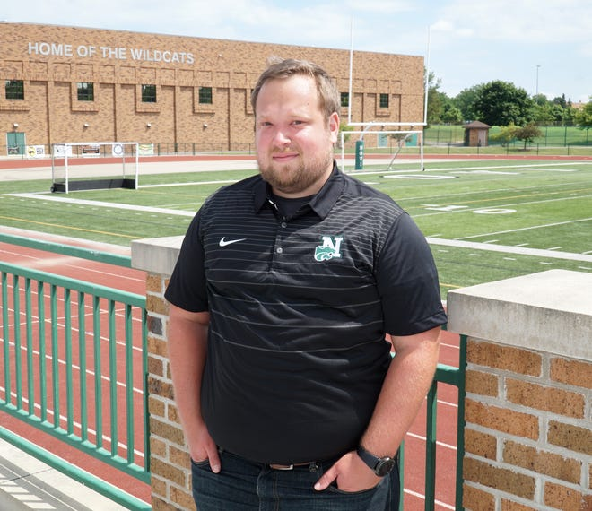 If high school fall sports begin at Novi High Jeremy Jenkins will take his place in the stadium's press box to call the games. Jenkins also is the announcer for the school's varsity basketball and soccer games.