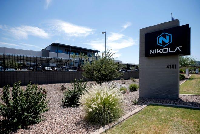 Exterior of Nikola Motors in Phoenix.