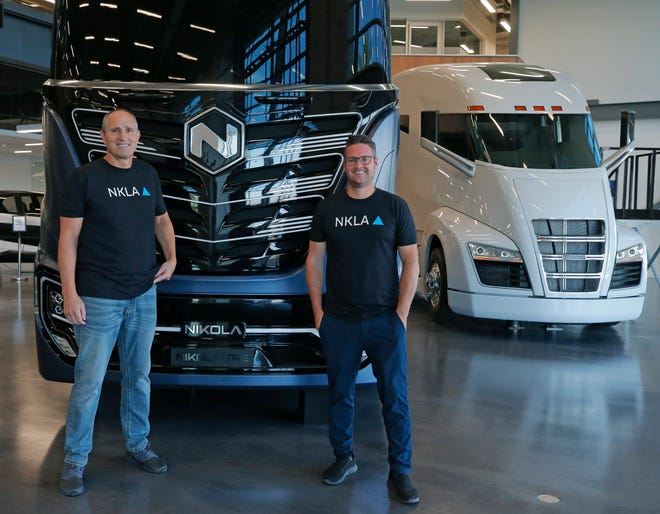 Zero-emissions truck company Nikola Corp. breaks ground on Arizona factory