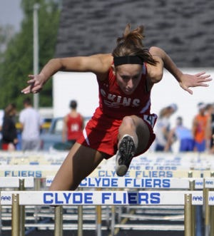 Port Clinton's Macy Caldwell finished seventh at state in the 100 hurdles.