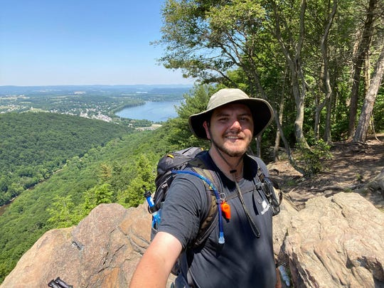 Daniel Bradshaw, 26, of Chambersburg, often section-hikes 20-50 miles of the Appalachian Trail at a time.