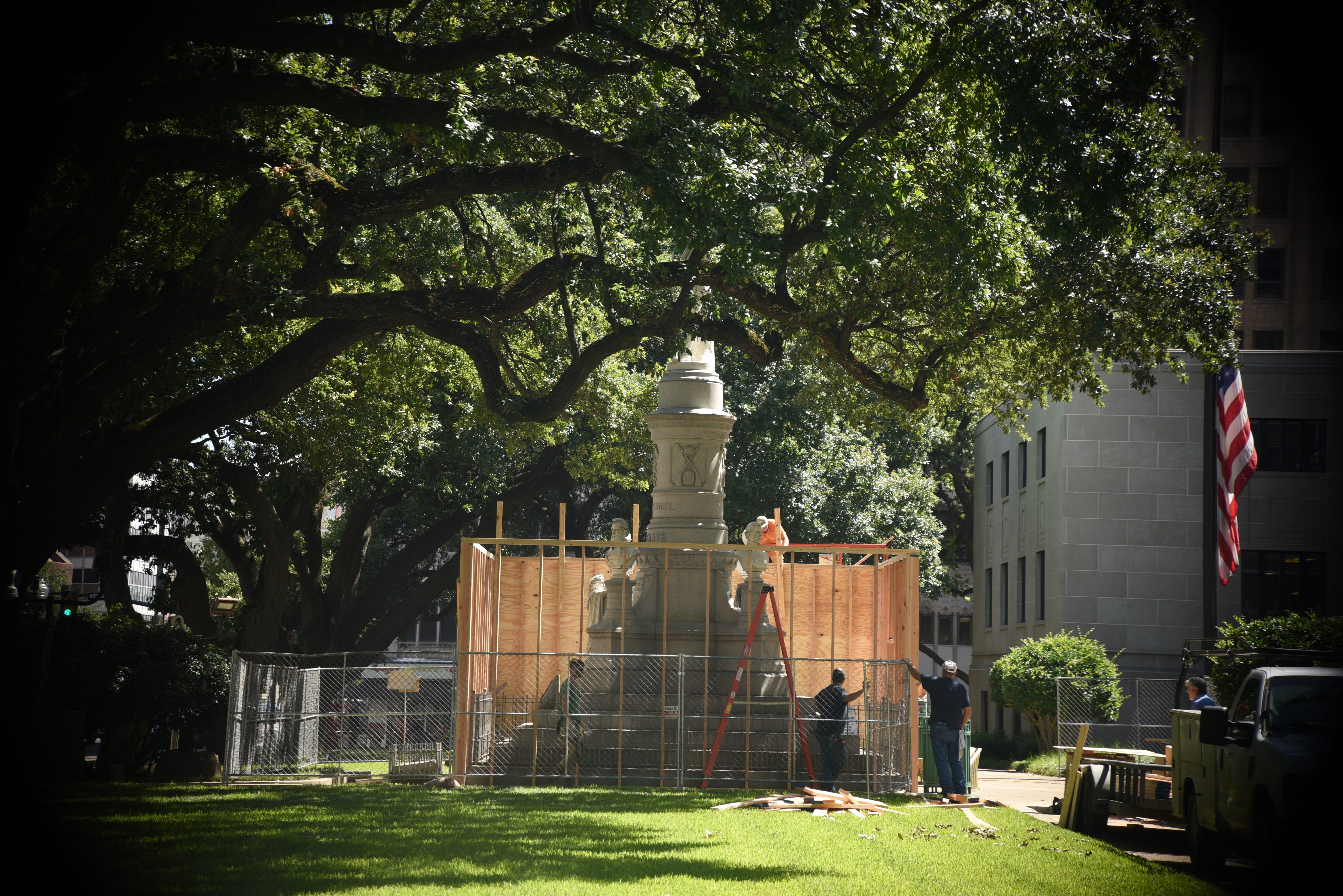 Caddo Parish's Confederate Monument moving to DeSoto Parish