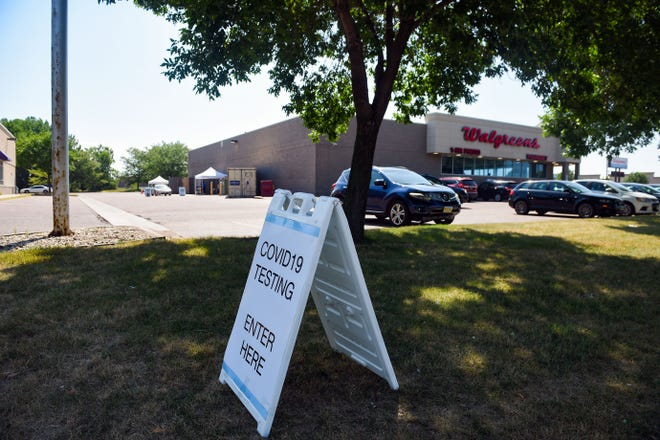 Walgreens offers coronavirus testing on Thursday, July 23, at the 41st Street location in Sioux Falls.