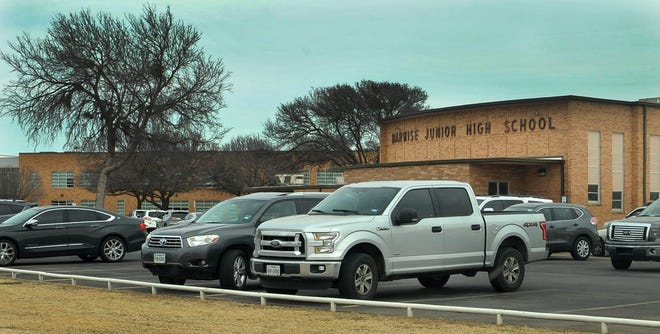 Wichita Falls ISD's Safe Return Task Force is meeting behind closed doors in the cafeteria of Barwise Middle School.