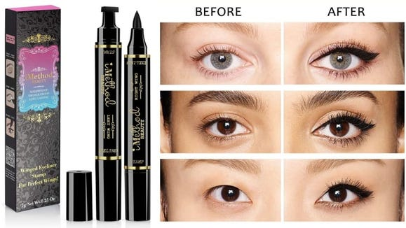 Because cat-eye eyeliner is a delicate art and science that many of us will never master without the iMethod.