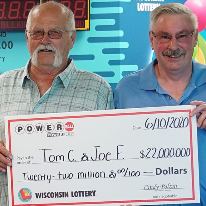 Thomas Cook and Joseph Feeney agreed years ago to split future lottery winnings. Cook followed through on that promise when he won a $22 million prize in June.