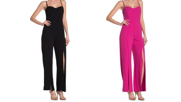 Grab this fun jumpsuit in three colors.