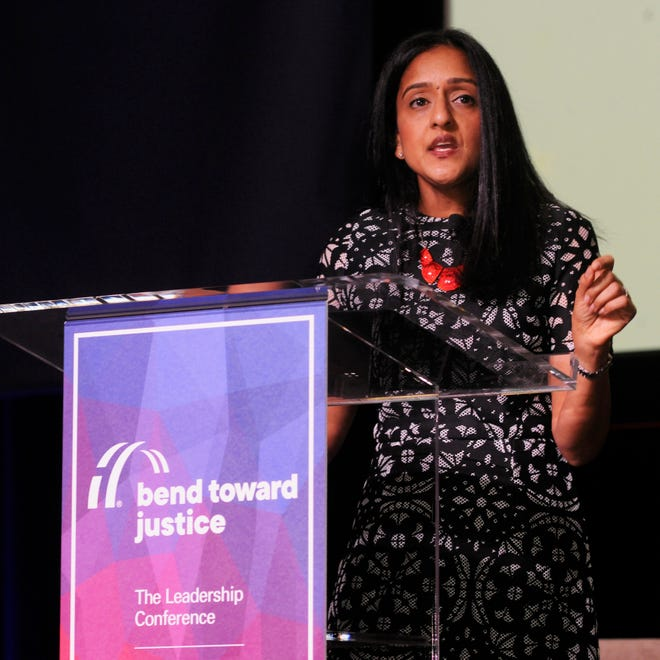 Associate attorney general nominee Vanita Gupta has faced stiff opposition from conservative groups who have branded her an opponent of law enforcement.