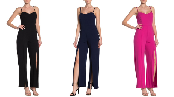 Who doesn't love a sleek jumpsuit?