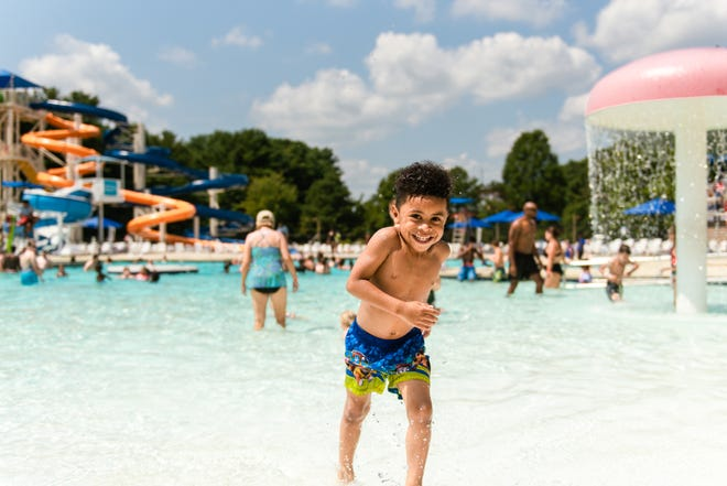 File photo from a previous summer at Killens Pond State Park Water Park.