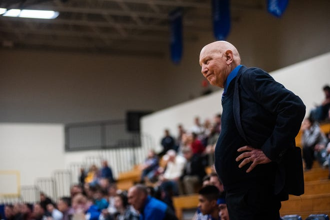 Fred Ahart was an ambassador for Section 9 athletes in the area and throughout the state in his 51 years as Roscoe's athletic director and coach. Ahart lost his fight with prostate cancer Thursday at the age of 73. KELLY MARSH/FOR THE TIMES HERALD-RECORD