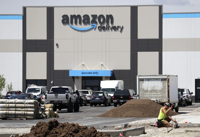 The new Amazon Delivery building is at W6331 Wally Way in Greenville, Wis.