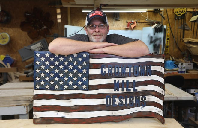 Jay Lenhart has been doing woodworking for 30 years, and now owns and operates Crowtown Mill Designs in Coshocton.