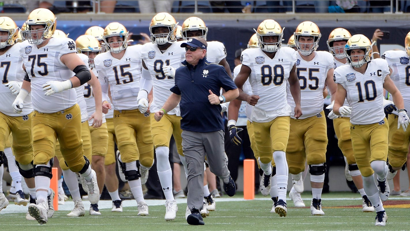 notre dame football schedule - photo #3