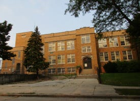 The former Edison Middle School on Milwaukee's north side would be converted to apartments under a new plan.