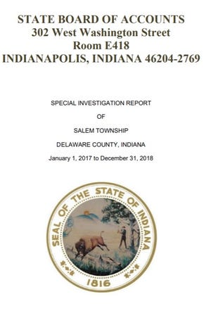 State examiners question spending by former Salem Township Trustee Ronnette Waitman in a special investigation report.