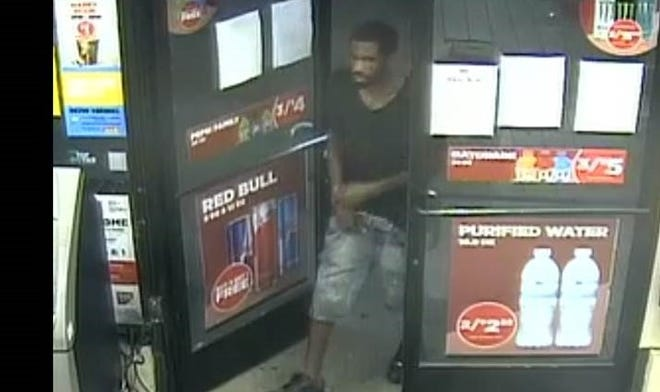 Metro Nashville police say this man robbed a victim at gunpoint and stole his car on Friday, July 24, 2020.