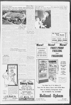 The Advocate previewed the centennial fair in an article on July 24, 1958.