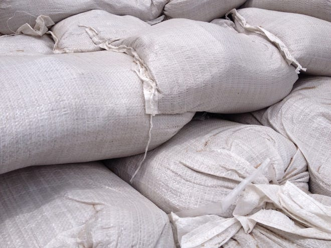Terrebonne residents can pick up free sandbags starting at 7 a.m. Saturday at locations across the parish.