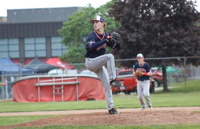 Jacob Cox pitched for the varsity baseball team at Livonia Franklin his junior season, before his senior season was canceled due to COVID-19.