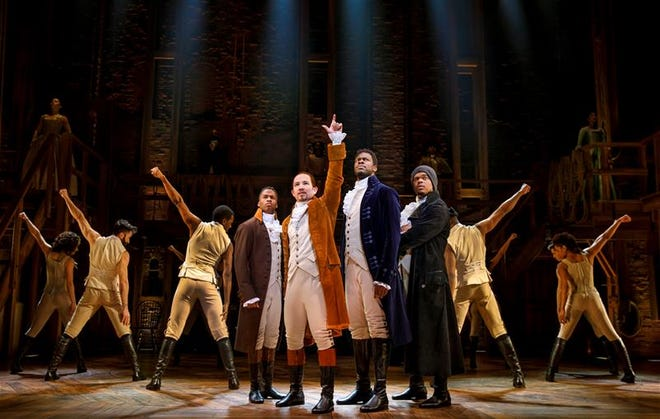 The musical Hamilton highlights the 2021 ASU Gammage Broadway season.