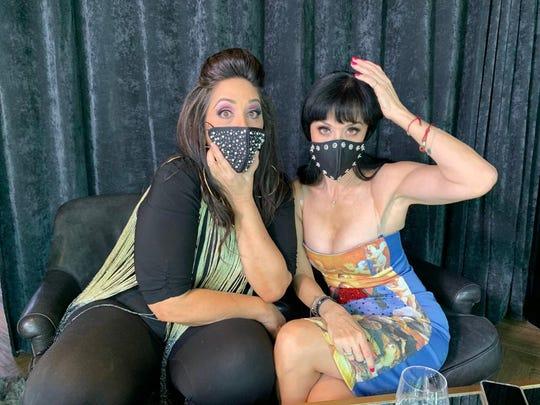 """Susana Zabaleta  y Regina Orozco deleitarán a su público con su show """"¡Andan Sueltas!"""" que se llevará a cabo el próximo 8 de agosto, en la plataforma de streaming Me Show.      Regina y Susana, dos grandes voces. Cortesía."""