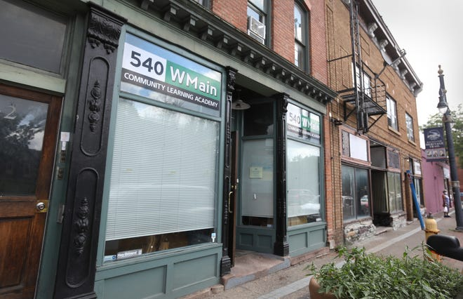 540 EMain, a community learning academy at 540 West Main Street in downtown Rochester, will close in early August.