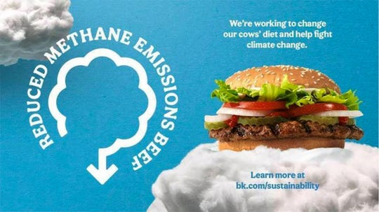 Farmers and ag industry experts are pushing back against a controversial ad aired by Burger King intimating that bovine flatulence is having a dire effect on global warming.