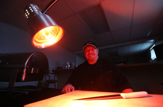 Chef Steve Meredith runs a catering businesses known as The Professional Caterer.