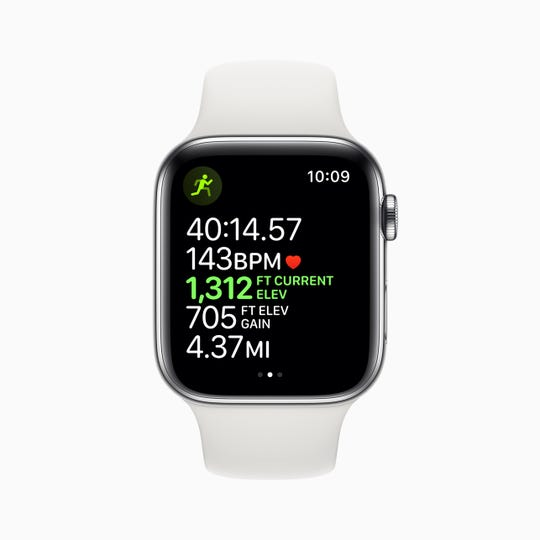 Apple Watch Series 5 offers an always-on display, integrated compass, advanced ECG, fall-detection and more.