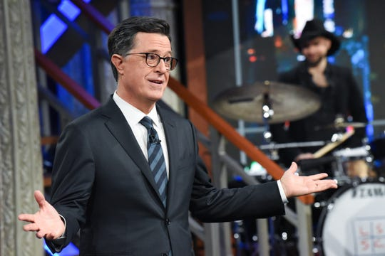 """Best variety talk series: """"The Late Show with Stephen Colbert,"""" CBS"""