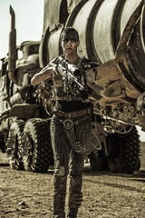 "Charlize Theron as Imperator Furiosa in ""Mad Max: Fury Road."""