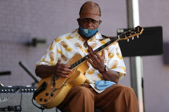 Eric Watson performs at the Detroit Music Weekend festival on July 25, 2020.