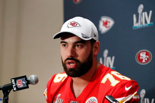 Kansas City Chiefs offensive guard Laurent Duvernay-Tardif, of the Super Bowl champion Kansas City Chiefs, became the first player to opt out of the upcoming NFL season due to the coronavirus pandemic.