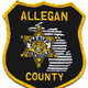 Allegan County sheriff's patch