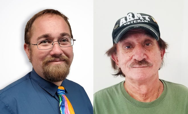 Louis Navarra and Robert Welsh, who are running for Cape Coral city council in District 5 in 2020.