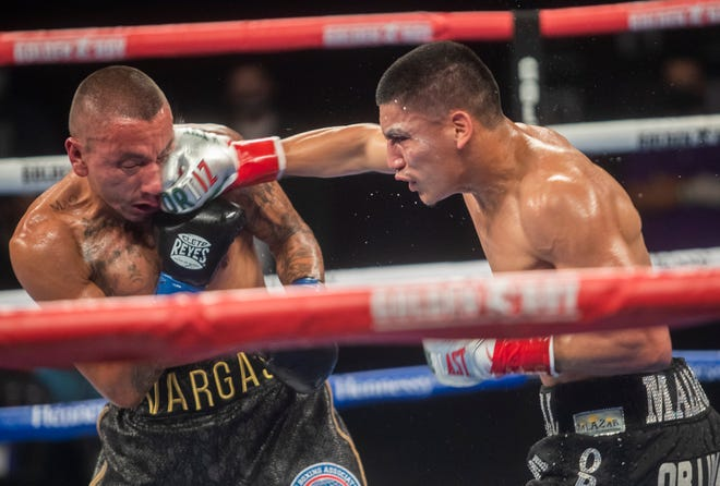 Vergil Ortiz Jr., Seniesa Estrada win as boxing back at Fantasy ...