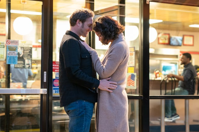 Josh Lucas and Katie Holmes in a scene from 'The Secret: Dare to Dream'