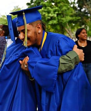 Crispus Attucks Charter School graduation ceremony in York City, Friday, July 24, 2020. Dawn J. Sagert photo