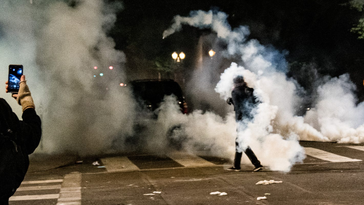 Feds use tear gas to try to disperse Portland protesters – USA TODAY