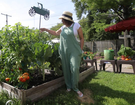 Karen Coffey has been a server at Joe Louis Arena, Little Caesars Arena and Comerica Park for 30 years. But since COVID-19 shut down the NBA, NHL and Major League Baseball, she has been spending time gardening at her Oak Park home. While the Tigers resume play with no fans, she is growing more redskin potatoes.