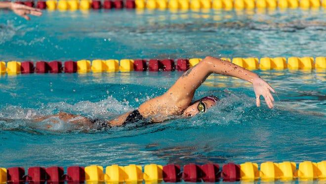 Arizona State swimmer Emma Nordin