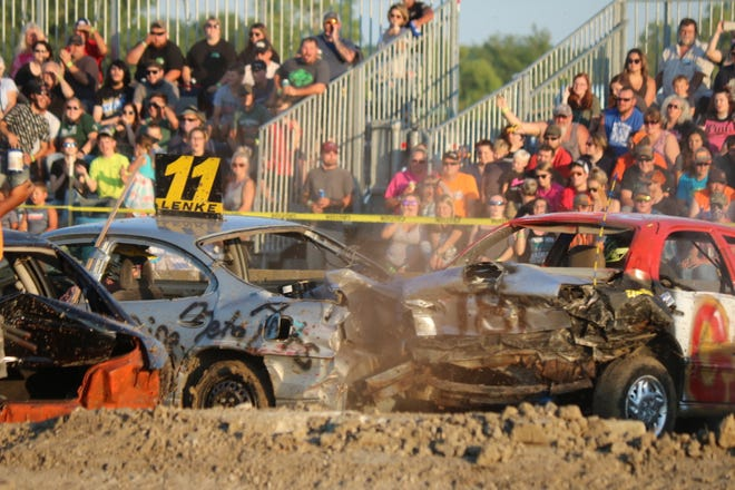 The Ottawa County Fair hosted its annual demolition derby, organized by the local Twisted Metal Demo Crew, on Friday.