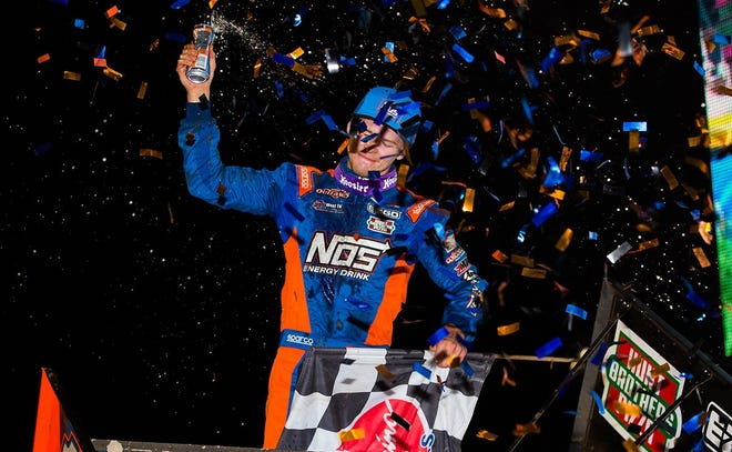 Sheldon Haudenschild, seen here in a file photo, is the defending Gettysburg Clash champion at Lincoln Speedway.