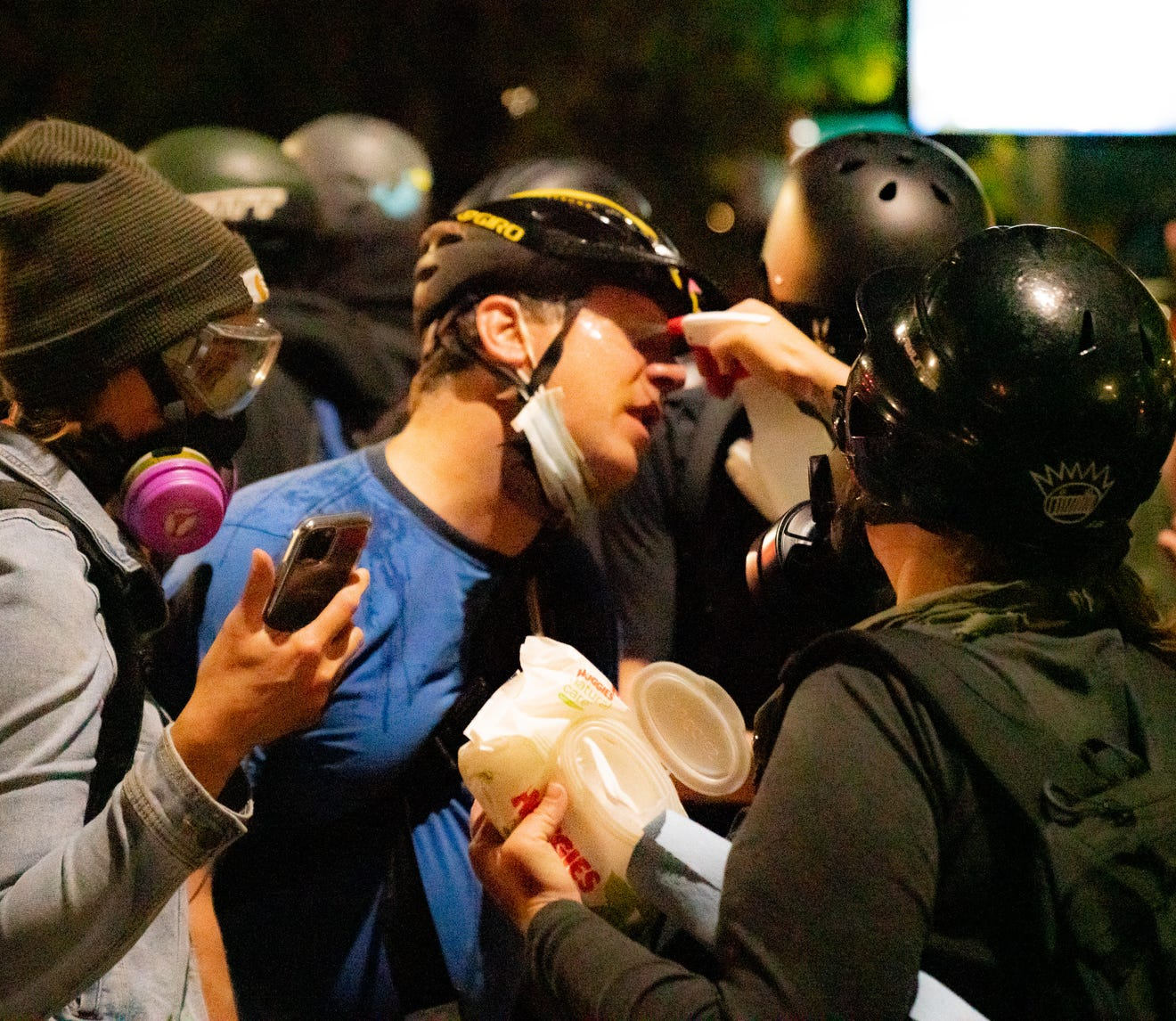 Portland protests decalred riot
