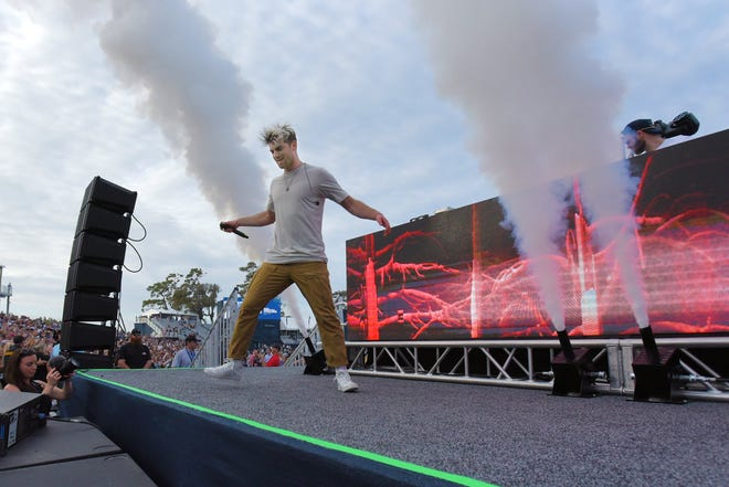 The last big concert in the Jacksonville area was a Chainsmokers show at the Players Championship Military Appreciation Day in March. [Bob Self/Florida Times-Union]